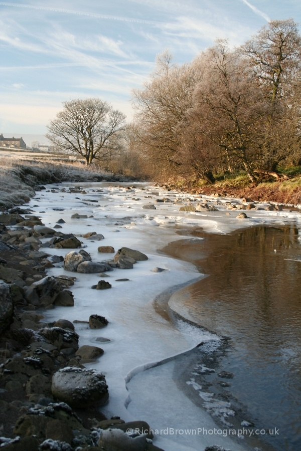 photo of Icy South Tyne