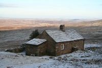 A welcome site on a winter's day. It would be more welcoming still if there was smoke rising from the chimney!