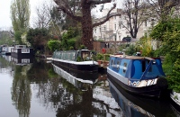 Canal in W9. Shame it wasn't a brighter day.