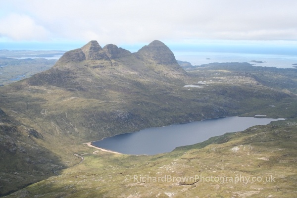 photo of Suilven from Canisp