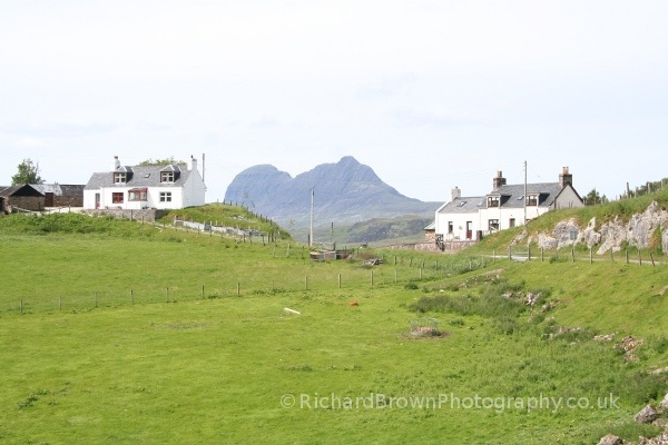 photo of Suilven from Elphin